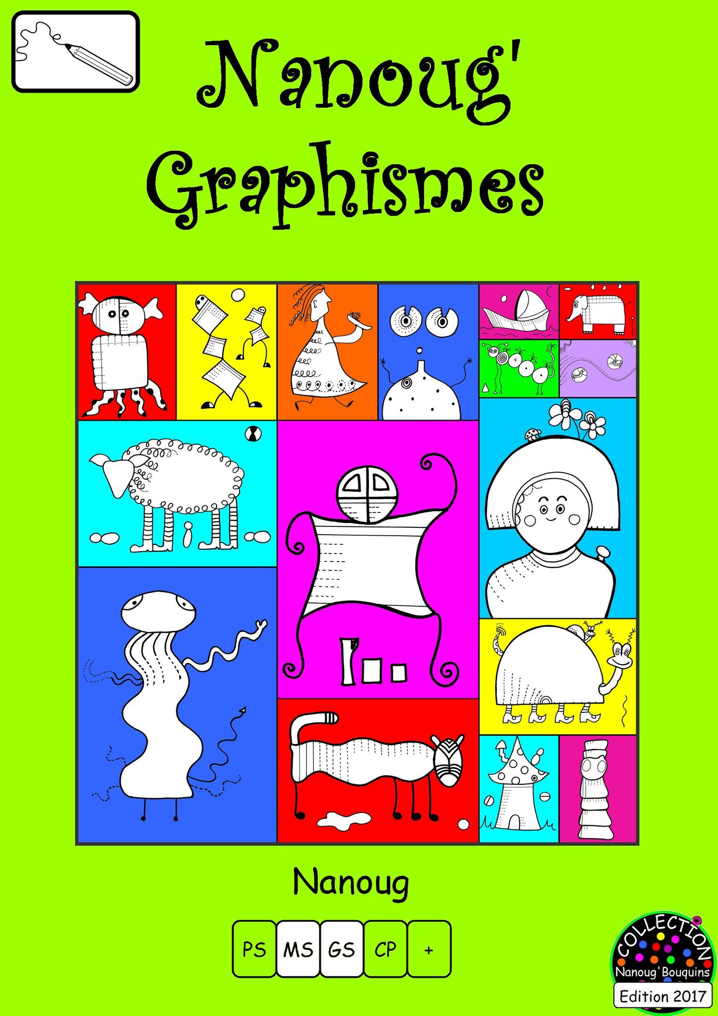 Zoom Sur Les Nanoug'graphismes - Le Tour De Ma Classe dedans Graphisme Les Vagues Moyenne Section